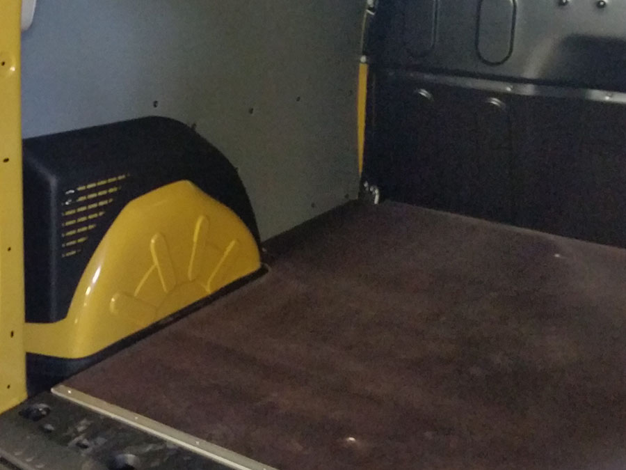 Rivestimento furgone Renault Kangoo  Furgotecnica